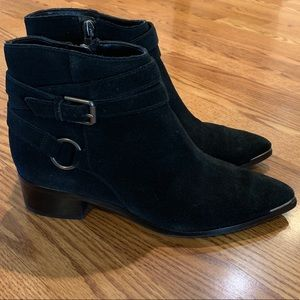 Marc Fisher Black Chelsea Boots